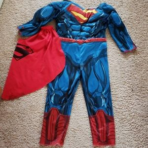 Other - Superman jumpsuit for kids 3-4 years